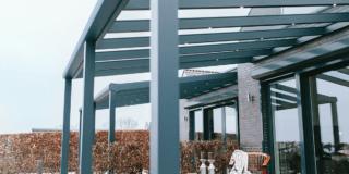Terrasoverkapping glas