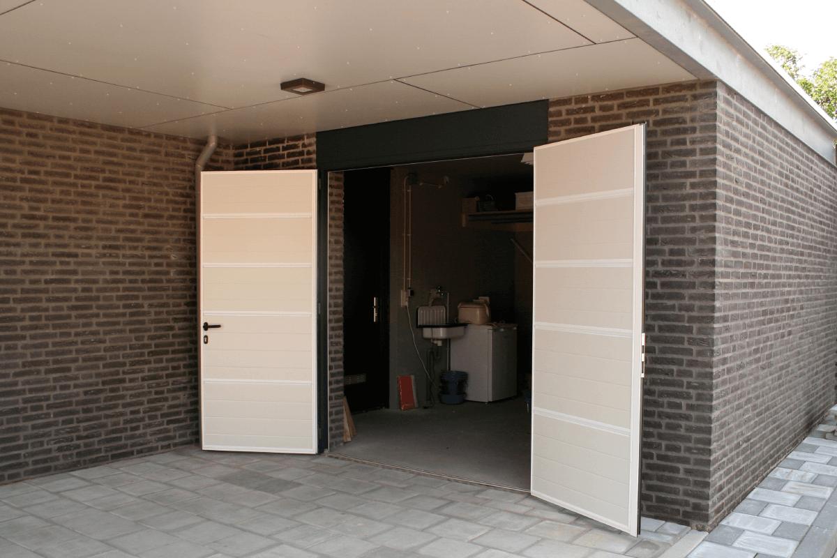 Openslaande garagadeur